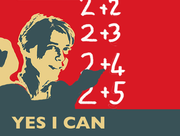 Yes I can - Barn som räknar.